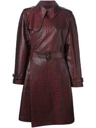 пальто с принтом крокодиловой кожи  Jean Paul Gaultier Vintage