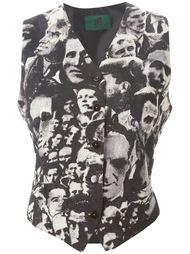 жилет 'L'Europe de L'Avenir' Jean Paul Gaultier Vintage