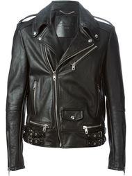 байкерская куртка 'Lapolak' Diesel Black Gold