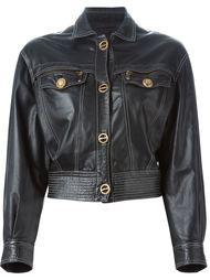 укороченная куртка Versace Vintage