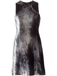 бархатное платье без рукавов Y / Project