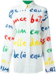 рубашка с графическим принтом Jc De Castelbajac Vintage