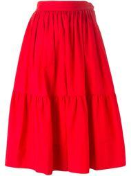 юбка-миди в крестьянском стиле Yves Saint Laurent Vintage