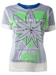 двухслойная футболка с принтом Walter Van Beirendonck Vintage