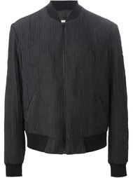 куртка-бомбер с полосатыми панелями Maison Margiela