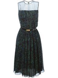 плиссированное платье  Jason Wu