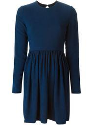 расклешенное платье с открытой спинкой Victoria Victoria Beckham