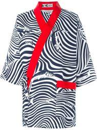 кимоно с запахом 'Uniform' Kansai Yamamoto Vintage