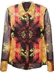 рубашка с принтом калейдоскопа Jean Paul Gaultier Vintage