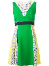 А-образное платье с контрастным поясом  Peter Pilotto