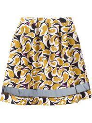 юбка с абстрактным принтом  Saloni