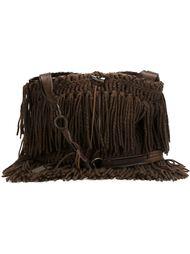 трикотажная сумка с бахромой Dolce & Gabbana Vintage