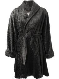 пальто с поясом  Lanvin Vintage