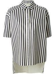 перфорированная рубашка в полоску  Drome
