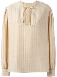 блузка в мелкую полоску Alessandra Rich