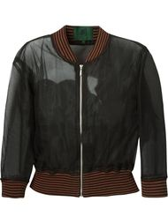 многослойная прозрачная куртка  Jean Paul Gaultier Vintage