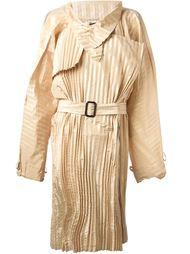 плиссированное пальто  Jean Paul Gaultier Vintage