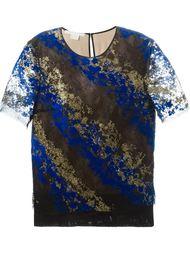 кружевная блузка из флока Antonio Berardi