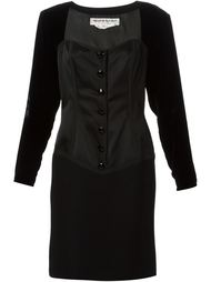 платье с корсетом  Yves Saint Laurent Vintage