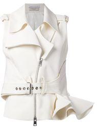 байкерская куртка без рукавов с оборками Le Bon Marche X The Webster