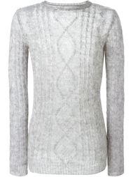 свитер аранской вязки Ermanno Scervino