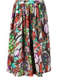 расклешенная юбка с цветочным принтом Duro Olowu