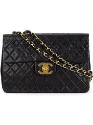 большая стёганая сумка на плечо Chanel Vintage