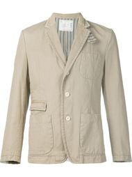 пиджак с накладными карманами  Sacai