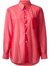 прозрачная рубашка Comme Des Garçons Vintage