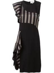 асимметричное платье с рюшами 3.1 Phillip Lim