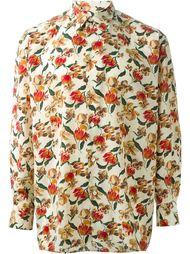 рубашка в цветочный принт  Jean Paul Gaultier Vintage