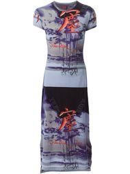 приталенное платье-футболка Jean Paul Gaultier Vintage