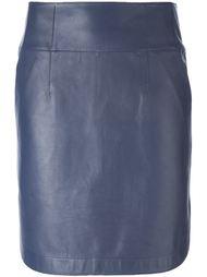 юбка с завышенной талией Jil Sander Navy