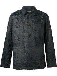 фактурная куртка с застежкой на пуговицы Julien David