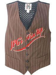 жилетка с принтом 'JPG's Pin Up' Jean Paul Gaultier Vintage
