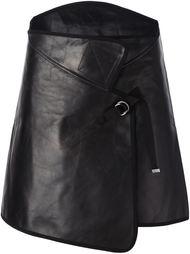 асимметричная юбка с запахом Maison Margiela