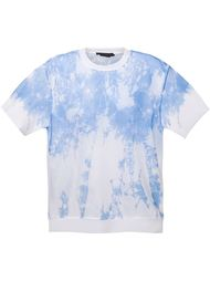 прозрачная футболка с принтом Alexander Wang