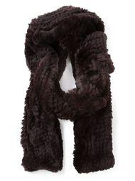 шарф из меха кролика Liska