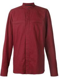 рубашка с воротником-стойкой Haider Ackermann