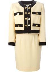 костюм с юбкой Moschino Vintage