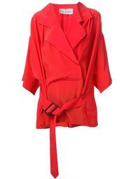 рубашка 80-х с запахом Gianfranco Ferre Vintage