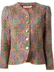 стёганая куртка с рисунком Yves Saint Laurent Vintage