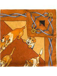 шарф с принтом  Roberta  Di Camerino Vintage