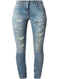 узкие джинсы с потёртостями Faith Connexion