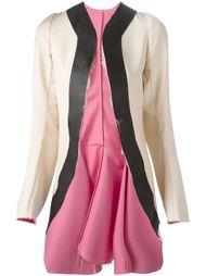 пальто с контрастной отделкой Comme Des Garçons Vintage