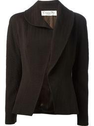 жаккардовый пиджак  Christian Dior Vintage