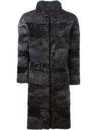 пальто с воротником-стойкой Liska