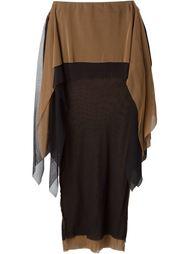 двухслойная прозрачная юбка  Jean Paul Gaultier Vintage