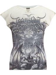 прозрачная футболка с принтом Jean Paul Gaultier Vintage