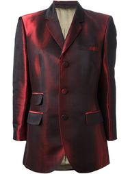 пиджак с переливающимся эффектом Jean Paul Gaultier Vintage